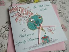 Handmade Personalised Get Well Card