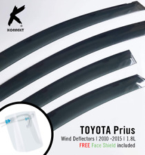 TOYOTA Prius (1.8L) - Wind Deflectors (2010 to 2015) -Front And Rear - 4 Pcs