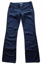 HUDSON sz 29 Signature Bootcut Flap Pocket Jeans Lightweight Denim Dark Wash DRK