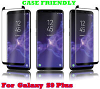 Case Friendly Premium Screen Protector Tempered Glass For Samsung Galaxy S9 Plus