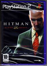 Ps2 Hitman Blood Money UK PAL & Sony Factory