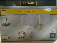 Defiant 270-Degree Motion Activated Integrated LED Triple Head Flood Light
