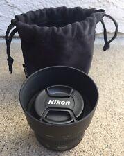 NIKON~Camera Lens With HB-47 Hood~AF-S NIKKOR 50mm~f/1.8 G~SWM Aspherical