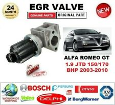 FOR ALFA ROMEO GT 1.9 JTD 150/170 BHP 2003-2010 EGR VALVE 2-PIN with GASKET/SEAL