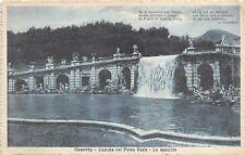 BR37069 Cascata nel parco Reale lo specchio Caserta italy
