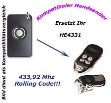 433 Mhz Handsender Fernbedienung kompatibel zu Homentry HE4331 4330E G4335E
