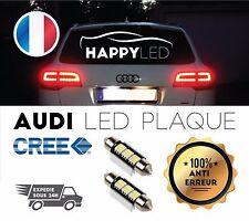 2 X AMPOULE LED PLAQUE AUDI ANTI ERREUR C5W ® A3 A4 A5 A6 A8 6000k