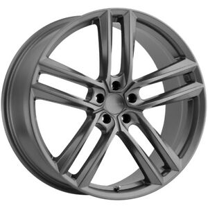 "Milanni 475 Clutch 18x8.5 5x115 +32mm Gunmetal Wheel Rim 18"" Inch"