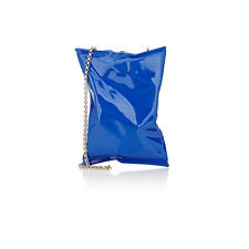 NEW AUTHENTIC ANYA HINDMARCH CRISP PACKET BAG IN ELECTRIC BLUE  BOXED  GIFT