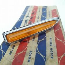 DATSUN BLUEBIRD 510 Cover Lens Side Turn Signal Lights Genuine Parts NOS JAPAN