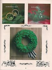 Chennile Wreath Ornament Pattern - Craft Books: Make Yours a Crafty Christmas I
