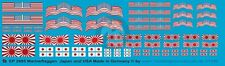 Peddinghaus 1/1250 Imperial Japanese and United States Navy Markings WWII 2995