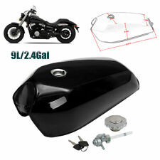 Universal Motorcycle Cafe Racer Gas Fuel Tank 9 L 2.4 Gallon for Honda Kawasaki