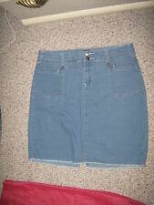 Cato Denim Straight, Pencil Regular Size Skirts for Women