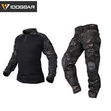 Idogear G3 táctico BDU Acu Airsoft ropa Multicam Negro Caza