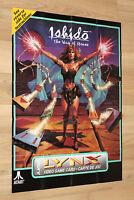 Ishido The Way of Stones Poster / Instructions Atari Lynx