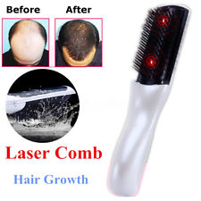 2017 Wireless Laser Infrared Hair Growth Regrowth Therapy Treatment Massage Comb