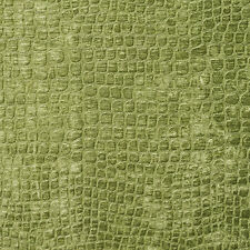 A0151A Green Textured Alligator Shiny Woven Velvet Upholstery Fabric By The Yard