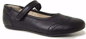 Noel Venus Black Leather Girls School Shoes - Last few Pairs - RRP £49.99