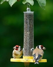 Goldfinch Finder Hanging Wild Small Bird Feeder Ready Filled with Niger Seed
