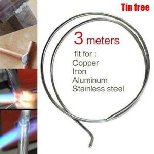Low Temperature Copper Iron Weld Seam Repair Wire Flux Brazing Repair Rods 300cm
