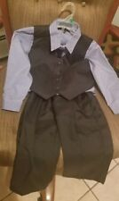 4T boys suit 4piece Toddler Set