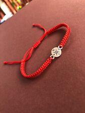 Silver  Compass Charm  Bracelet Handmade