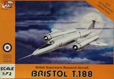 PRO Resin 1:72 Bristol T.188 British Supersonic Research Aircraft Kit #R72-043U