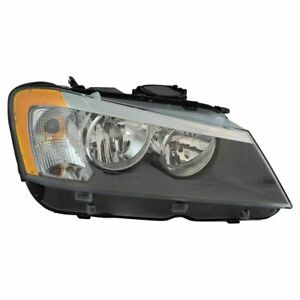 FITS FOR BMW X3 2011 2012 2013 2014 HEADLIGHT HALOGEN RIGHT PASSENGER