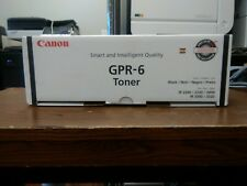 New Canon GPR-6 Toner Cartridge Black 6647A003AA
