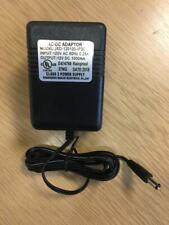 Indoor AC/DC Transformer Adapter, Input 120 VAC, 60 Hz / Output 12 VDC, 1000 mA