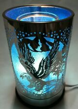 Electric Metal Touch Fragrance Lamp/Oil Burner/Wax Warmer/Night Light gw-0246bl