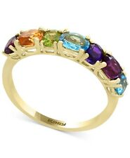Effy Jewelry Mosaic Multi-Gemstone (1-9/10 ct. t.w.) Statement Ring 14k Gold NWT