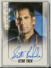 2017 Star Trek 50th Anniversary Captain Autograph Scott Bakula