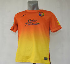 FC Barcelona 2012 - 2013 away jersey #4 Orange kit Nike Shirt Size Children XL