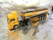 Herpa 148238 Man TGA LX Bitumen Tank Semitrailer Baufeld