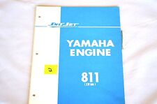1970's Vintage Sno-Jet Snowmobile SW396 (811) YAMAHA ENGINE Parts Manual - (OR2)