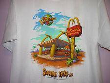 NEW Vintage 90s The Flintstones Movie Roc Donald's 50/50 T Shirt White XL