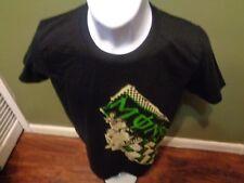Monster Energy Drink Black T Shirt Women's Junior Jr Size Large