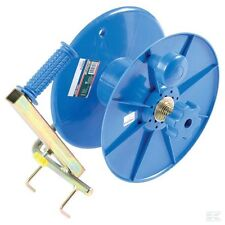 ELECTRIC FENCE REEL - Tape Wire Rope Fencing Blue Winding 500m Brake Hook