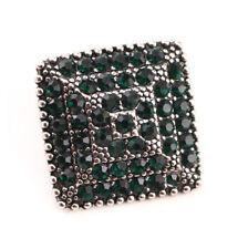 3DCrystal Chunk Charm Snap Button Fit For Noosa Necklace/Bracelet NSKZ128