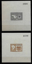Columbia 1948 Pan American Conference Lot of 2 S/S MNH