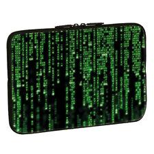 Design Tablet PC Netbook Tasche bis 10,1 Zoll (25,6cm) Schutz Hülle MATRIX