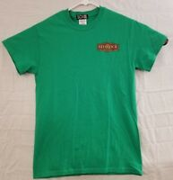 Red Rock Brewery Beer Salt Lake City Green Graphic T Shirt Mens Size S