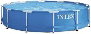 Intex 28212 piscina rotonda cm 366x76 h con pompa filtro