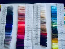 Belle Qualité Pure Soft French Silk Tulle Dans Plus De 70 nuances. par demi-mètr...