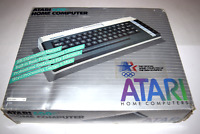 Atari 600XL Computer Video Game System Complete in Box
