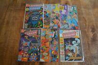 Justice League of America 184 186-193 DC Bronze Age Comics VF