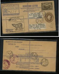 Canada  first flight Fort  Vermilion     Peace  River  1931       MS1122
