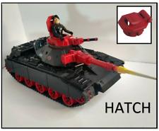 G I Joe Cobra Attack Cat Custom Hatch hinged 3D print fits Mobat Type Tank Red